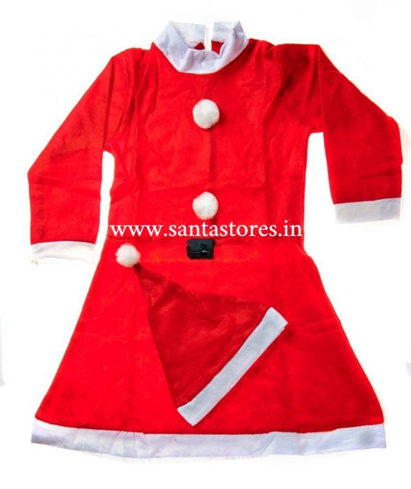 Adult Standard Santa Claus Frock - Free Size