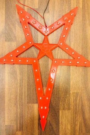 Natal Led Star Collection (Red)