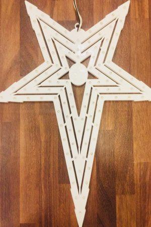 Natal Led Star Collection (White 3 Chaser)
