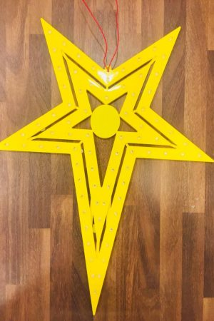 Natal Led Star Collection (Yellow)