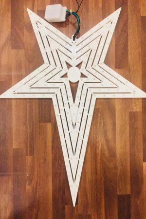 Natal Led Star Collection (White 4 Chaser)