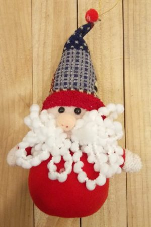 Mystic Hanging Santa Toy Decor (Medium)