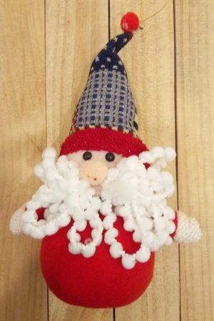 Mystic Hanging Santa Toy Decor (Medium)