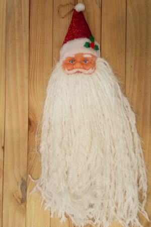 Mystic Hanging Santa Face Decor (Large)