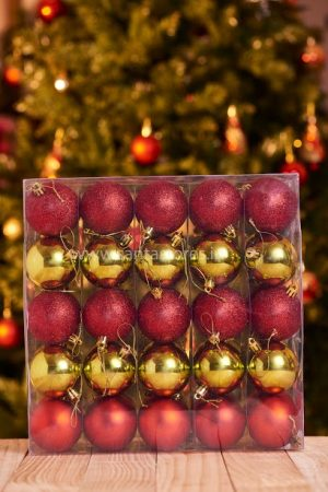 HallMark Ball Collection - Red and Green