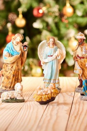 "Noel's Nativity Collection - 8"" Set of 11 Figurine (Large)"
