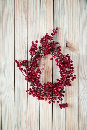Cherry Wreath Cum Garland Decor