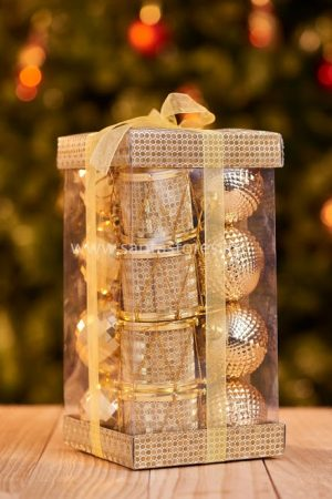 Gold Tree Ornament Assorted
