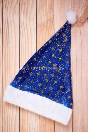 Santa Stores Dark Blue Premium Cap - Pack of 2