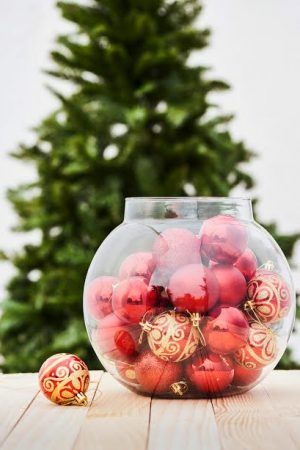 Christmas Classics Ball Ornaments - Red