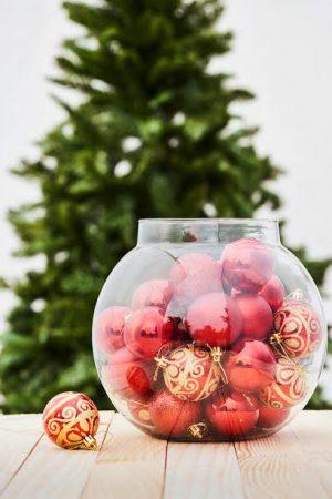 Christmas Classics Ball Ornaments - Red