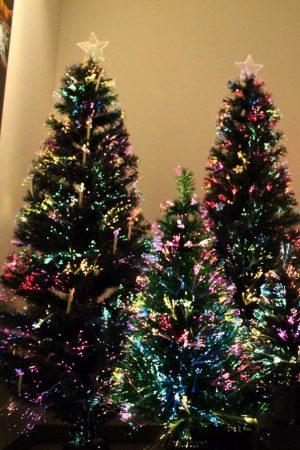 5 Ft Optical Fiber Christmas Tree