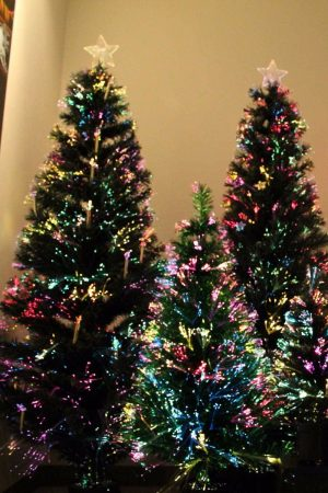 6 Ft Optical Fiber Christmas Tree