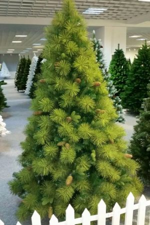 Hyde Pine Christmas Tree 7 ft