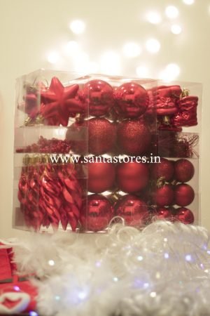 HallMark Tree Ornament Collection Full Gift Set - Red