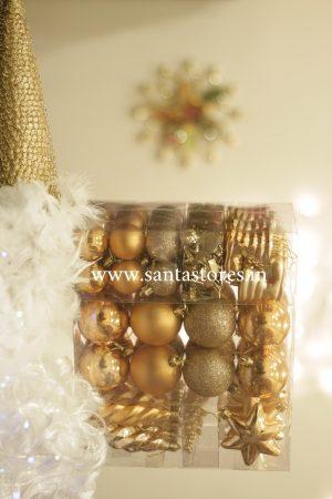 HallMark Tree Ornament Collection Full Gift Set - Gold