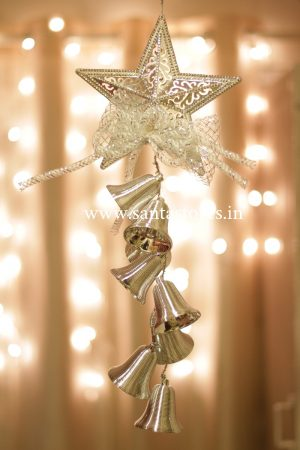 Christmas bells Decor (Silver)