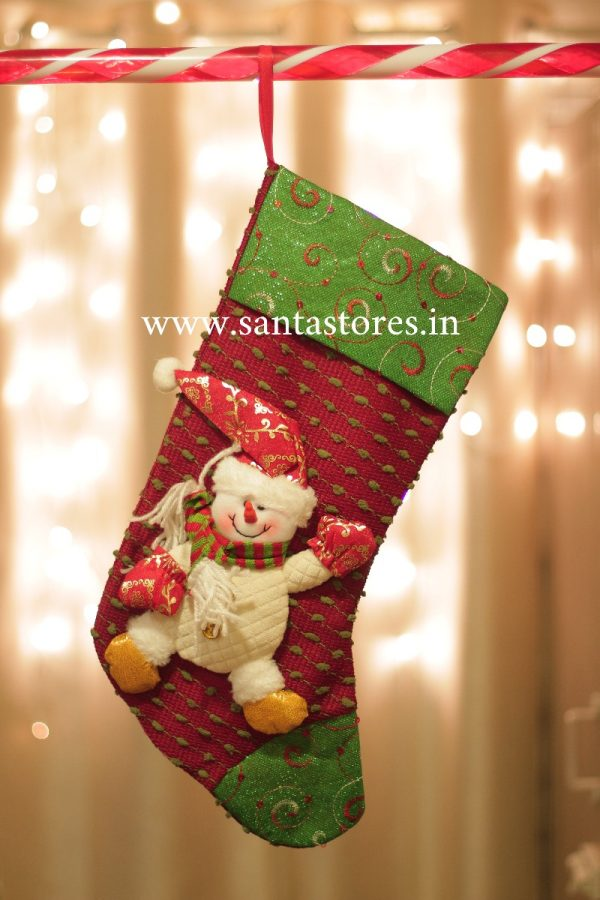 Browns Snowman Stocking