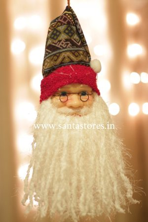 Mystic Hanging Santa Face Decor (Medium)