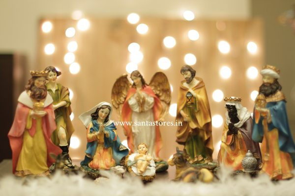 11 pcs Nativity Figurine Gloria (Large)