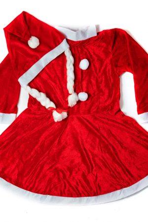 Santa Girl Frock Premium 9-13yrs