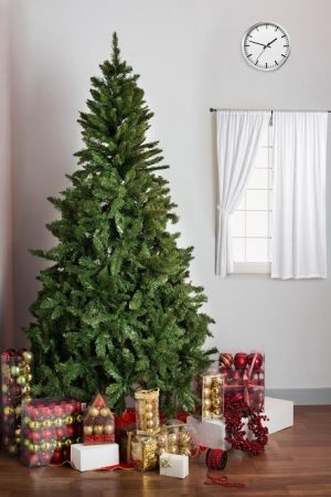 8 ft Evergreen Traditional Spruce Christmas Tree